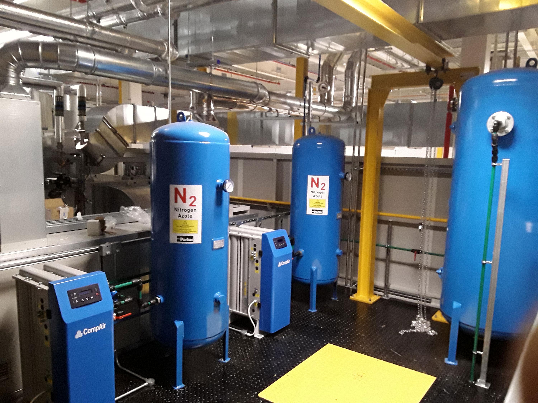 پکيج نيتروژن - Nitrogen Package صنعت مارکت 09128954110 تامين کننده انواع پکيج توليد نيتروژن، کمپرسور هوا، انواع پکيج های گاز از مشهور ترين برندهای دنيا
