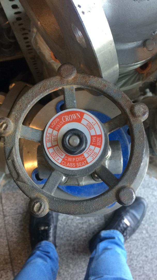 صنعت مارکت 86082557-021 تامین کننده انواع شیر آلات صنعتی و cryogenics valve وشیر کروی دسته بلند-Long Stem Globe Valve از برند Crown با کیفیت تضمینی.